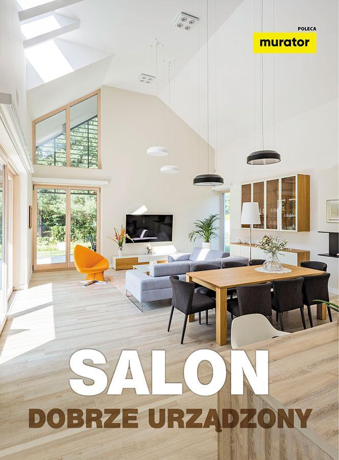 Salon dobrze urządzony
