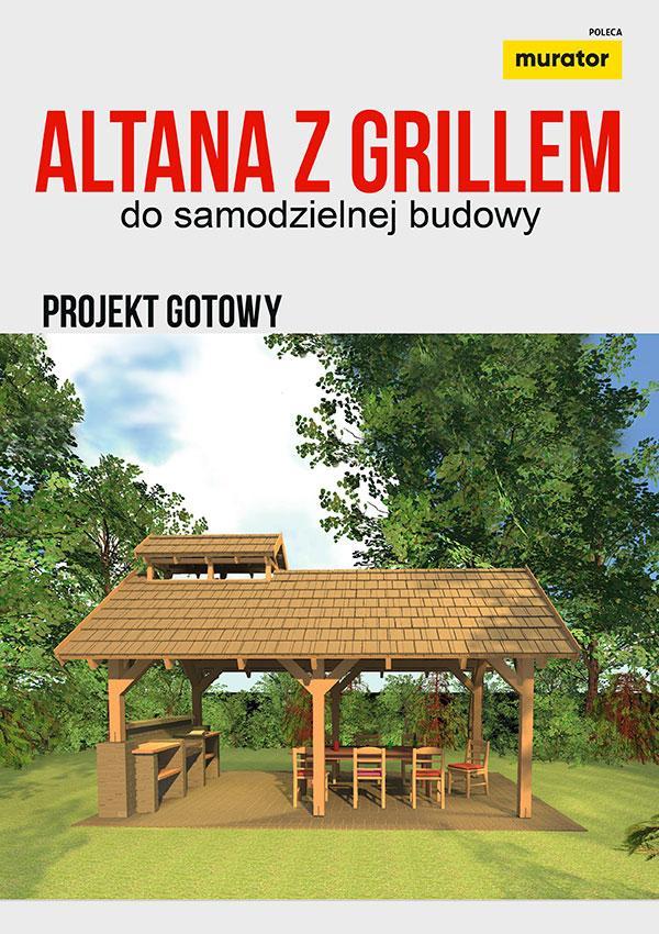Altana z grillem