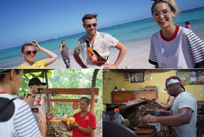 Targowisko, fabryka cygar i plaża dla bogatych. Tak minął dzień na Dominikanie!