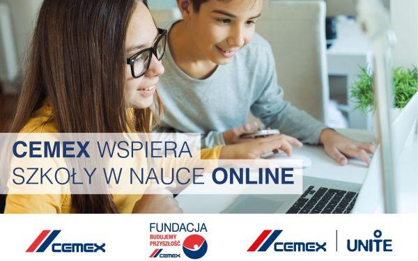 Wirtualna Klasa CEMEX - wsparcie dla zdalnego nauczania