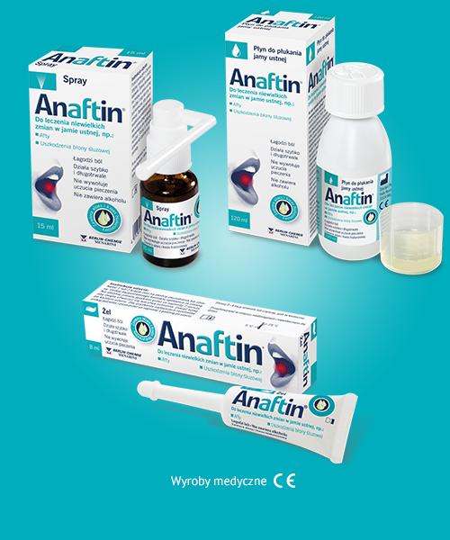 Kiedy stosować Anaftin®?