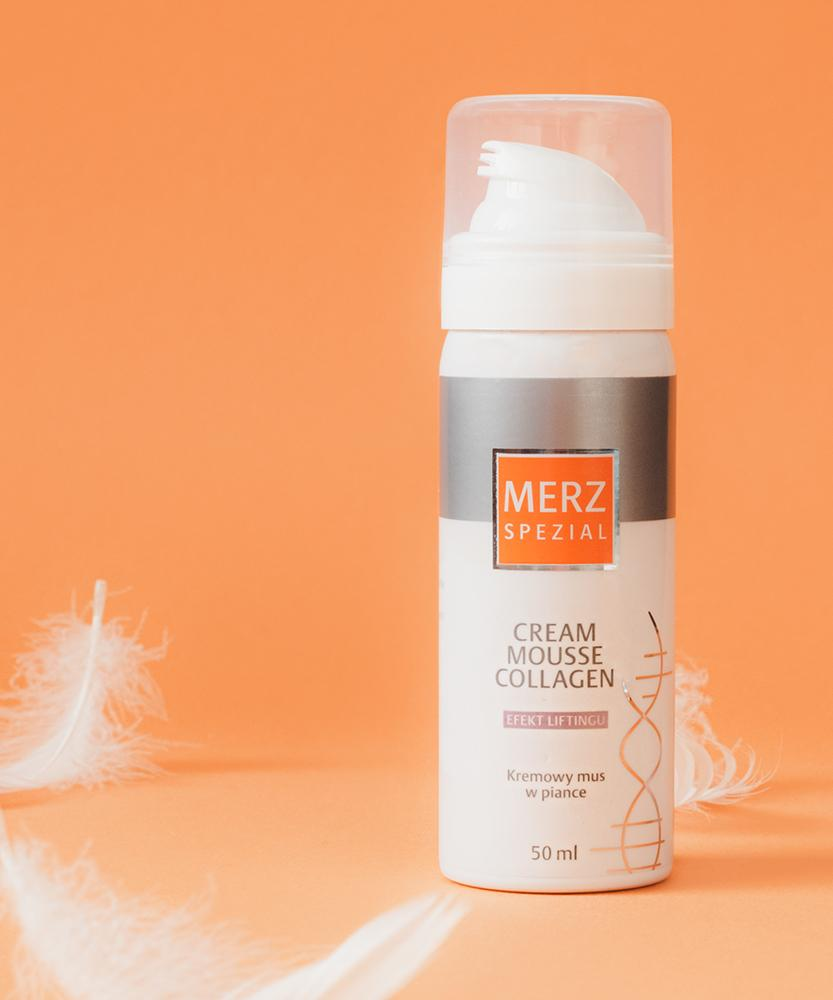 Cream Mousse Collagen